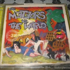 CDs de Música: THE METEORS VS THE WORLD DOBLE CD - ANAGRAM RECORDS AÑO 1999 ENGLAND PSYCHOBILLY. Lote 60792275