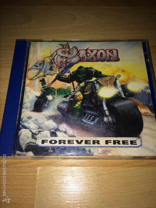 Saxon ?– Forever Free - 1993 - Warhammer Records ¡¡cD MUY MUY RARO!! DIFÍCIL DE ENCONTRAR! segunda mano