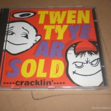 CDs de Música: CD TWENTY YEARS OLD - CRACKLIN' - SPAIN 1997 VG+ PUNK. Lote 60859911