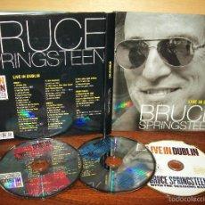 CDs de Música: BRUCE SPRINGSTEEN - LIVE IN DUBLIN - CD DOBLE + DVD + LIBRETO 40 PAGINAS. Lote 60876795