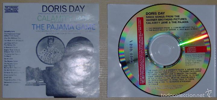DORIS DAY: CALAMITY JANE - THE PAJAMA GAME (Música - CD's Bandas Sonoras)