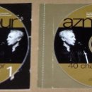 CDs de Música: CHARLES AZNAVOUR: 40 CHANSONS D,OR (2 CD). Lote 61015007
