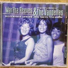 CDs de Música: THE VERY BEST OF MARTHA REEVES & THE VANDELLAS. IMPORT-CD / MUSICBANK-UK. 13 TEMAS / BC.. Lote 61073767