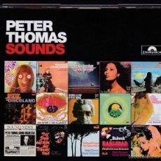 CDs de Música: PETER THOMAS SOUNDS - 5 CDS. Lote 61089935
