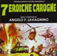 CDs de Música: 7 EROICHE CAROGNE / ANGELO F. LAVAGNINO CD BSO. Lote 61201439