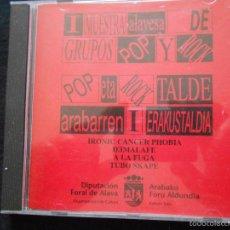CDs de Música: I MUESTRA ALAVESA DE GRUPOS POP Y ROCK // DIPUTACION FORAL DE ALAVA. Lote 61237399