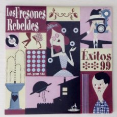 CDs de Música: LOS FRESONES REBELDES CD ONLY PROMO FIRMADO Y GARABATEADO. ÉXITOS 99. Lote 61333423