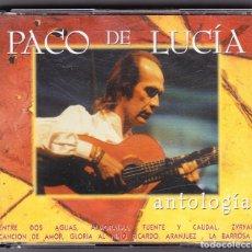CDs de Música - M - DOBLE CD - PACO DE LUCIA - ANTOLOGIA - DOBLE CD - 61413811