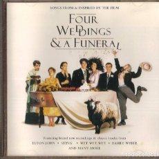 CDs de Música: B.S.O. FOUR WEDDINGS & A FUNERAL. Lote 61416319