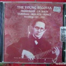 CDs de Música: ANDRES SEGOVIA.THE YOUNG SEGOVIA...MUY RARO. Lote 61427891