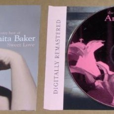 CDs de Música: SWEET LOVE - THE VERY BEST OF ANITA BAKER. Lote 61487959