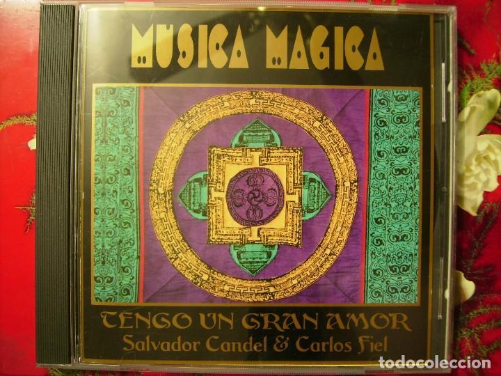 SALVADOR CANDEL-CARLOS FIEL.TENGO UN GRAN AMOR (MUSICA MAGICA) (Música - CD's New age)
