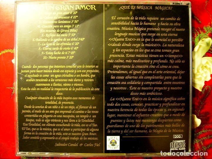 CDs de Música: SALVADOR CANDEL-CARLOS FIEL.TENGO UN GRAN AMOR (MUSICA MAGICA) - Foto 2 - 61501591
