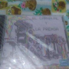 CDs de Música: EL CARNAVAL Y LA PRENSA ASI CANTA NUESTRA TIERRA EN CARNAVAL NUEVO PRECINTADO. C4CD. Lote 61530616