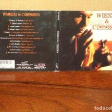 CDs de Música: WISDOM & COMPASSION - CD DIGIPACK + LIBRETO . Lote 61532944