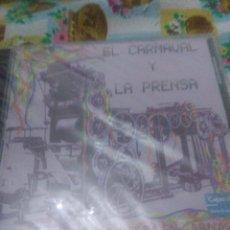 CDs de Música: EL CARNAVAL Y LA PRENSA ASI CANTA NUESTRA TIERRA EN CARNAVAL NUEVO PRECINTADO. C6CD. Lote 61535520