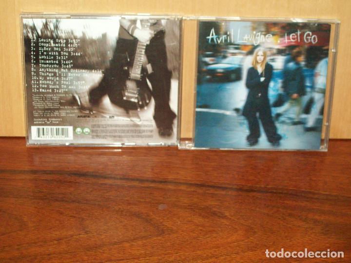 AVRIL LAVIGNE - LET GO - CD (Música - CD's Pop)