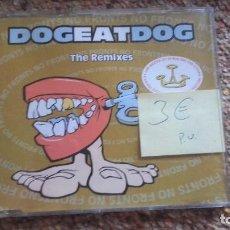 CDs de Música: DOG EAT DOG , THE REMIXES , CD. Lote 61625216