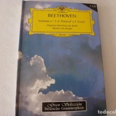 CDs de Música: BEETHOVEN SINFONIAS 5,6-PASTORAL- Y 9-CORAL-DIRIGE HERBERT VON KARAJAN (2 CD`S Y LIBRO). Lote 61628036