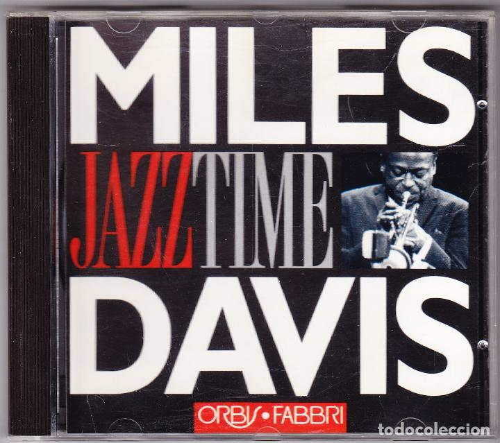 MILES DAVIS - JAZZ TIME - ORBIS FABBRI 1992 (Música - CD's Jazz, Blues, Soul y Gospel)
