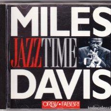 CDs de Música: MILES DAVIS - JAZZ TIME - ORBIS FABBRI 1992. Lote 61654060