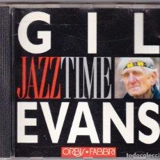 CDs de Música: GIL EVANS - JAZZ TIME - ORBIS FABBRI 1992. Lote 61654268