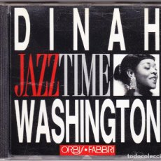 CDs de Música: DINAH WASHINGTON - JAZZ TIME - ORBIS FABBRI 1992. Lote 61654432