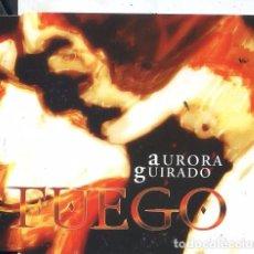 CDs de Música: AURORA GUIRADO / FUEGO / OJALA (CD SINGLE CAJA 2003). Lote 61656732