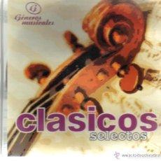 CDs de Música: CD - CLASICOS SELECTOS - 25 TEMAS. Lote 61694308