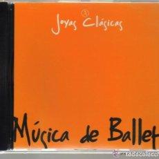 CDs de Música: CD - JOYAS CLASICAS - MUSICA DE BALLET - TSCHAIKOVSKY, GOUNOD - 8 TEMAS. Lote 61695680
