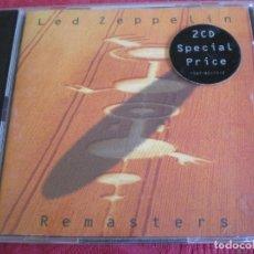 CDs de Música: LED ZEPPELIN. REMASTERS. DOBLE CD. Lote 61742296