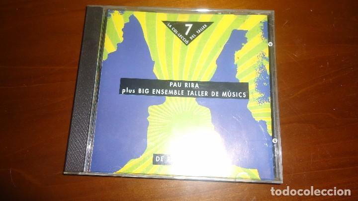 PAU RIBA PLUS BIG ENSEMBLE TALLER DE MUSICS (Música - CD's Jazz, Blues, Soul y Gospel)