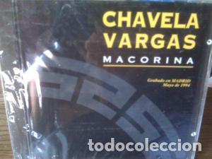 CHAVELA VARGAS MACORINA CD (Música - CD's Otros Estilos)