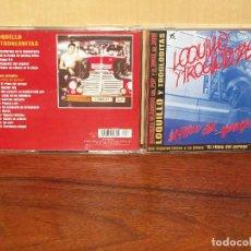 CDs de Música: LOQUILLO Y LOS TROGLODITAS - CD COMPLETO EL RITMO DEL GARAGE + 4 TEMAS . Lote 61898380