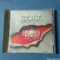 CDs de Música: CD - AC/DC - THE RAZOR EDGE. Lote 61944015