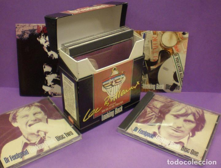 DR FEELGOOD - LOOKING BACK - 5 CDS BOX SET + LIBRETO - 104 CANCIONES. (Música - CD's Rock)