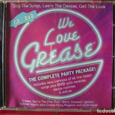 CDs de Música: WE LOVE GREASE.NUEVAS VERSIONES...RARO...CD + DVD CON KARAOKE. Lote 61983876