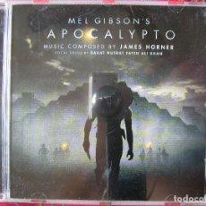 CDs de Música: APOCALYPTO..DE MEL GIBSON..MUSICA JAMES HORNER...DIFICIL. Lote 61984556