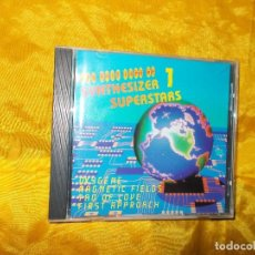 CDs de Música: THE VERY BEST OF SYNTHESIZER SUPERSTARS. VOL 1. CD . EDICION ALEMANA. IMPECABLE. Lote 62011624