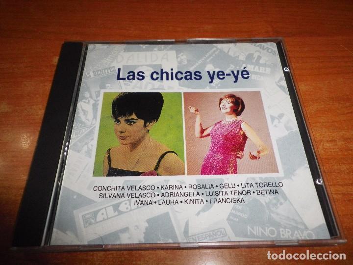 LAS CHICAS YE-YE CD ALBUM 1993 PLANETA CONCHITA VELASCO KARINA ROSALIA GELU LITA TORELLO IVANA (Música - CD's Pop)