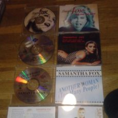 CDs de Música: PACK LOTE 4 CD SAMANTHA FOX ANOTHER WOMAN HURT ME LET ME BE FREE GREATEST HITS SABRINA SALERNO. Lote 62029868