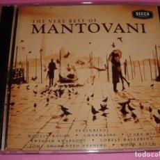 CDs de Música: MANTOVANI / THE VERY BEST OF / LO MEJOR DE / GREATEST HITS / GRANDES ÉXITOS / DECCA RECORDS / 2 CD. Lote 62120812
