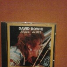 CDs de Música: DAVID BOWIE REBEL REBEL 1994. Lote 62148012