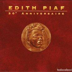 CDs de Música: EDITH PIAF - 30E ANNIVERSAIRE - EMI FRANCE 1993 827 1002. CD ALBUM CON LIBRETO. Lote 62189200
