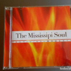 CDs de Música: THE MISSISSIPI SOUL DE LA COLECCION ORIGINAL MOMENTS. Lote 62222676