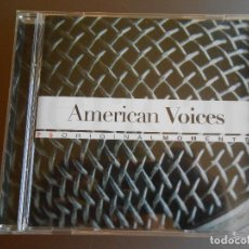 CDs de Música: AMERICAN VOICES DE LA COLECCION ORIGINAL MOMENTS. Lote 62222884