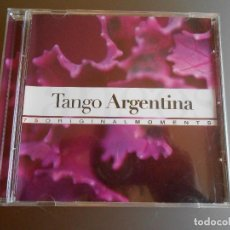 CDs de Música: TANGO ARGENTINA DE LA COLECCION ORIGINAL MOMENTS. Lote 62223220