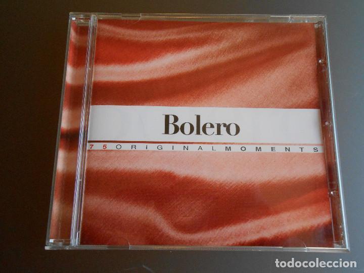 BOLERO DE LA COLECCION ORIGINAL MOMENTS (Música - CD's Melódica )