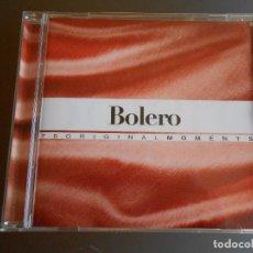 CDs de Música: BOLERO DE LA COLECCION ORIGINAL MOMENTS. Lote 62223268