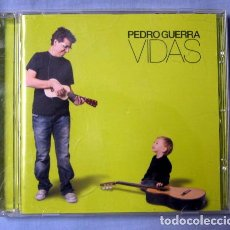 CDs de Música: PEDRO GUERRA - VIDAS. Lote 62224264